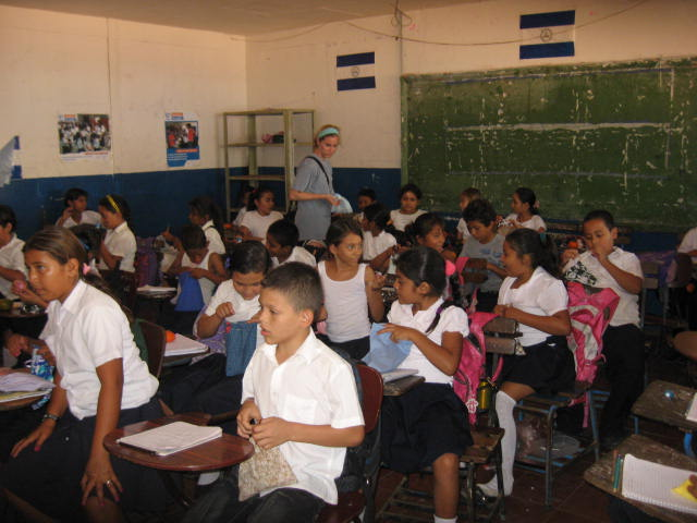 Children in Huehuete classroom 2013